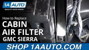 2012 Chevy Silverado Cabin Air Filter Location