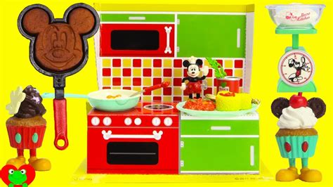 Mickey Mouse Retro Happy Kitchen Rement Set  Youtube