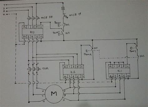 Star Delta Wiring Diagram Electrical Engineering Updates
