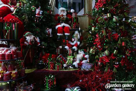 holiday season garden center nursery ideas commercial