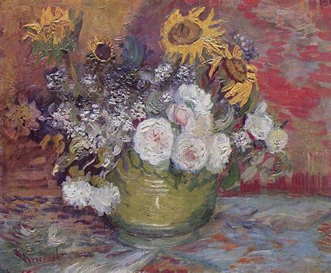 Vincent Van Gogh Sunflowers Series La Serie Dei