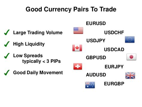 best currency trading best currency pairs to trade