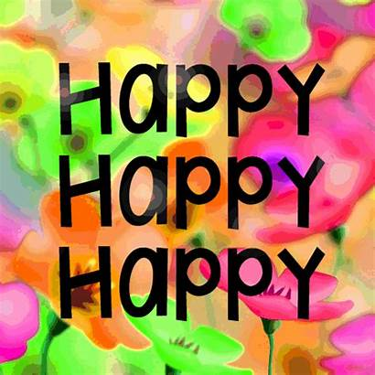 Birthday Happy Wishes Wish Gifs Colorful Very