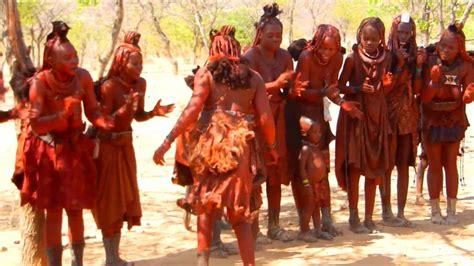 himba dancing people  namibia youtube