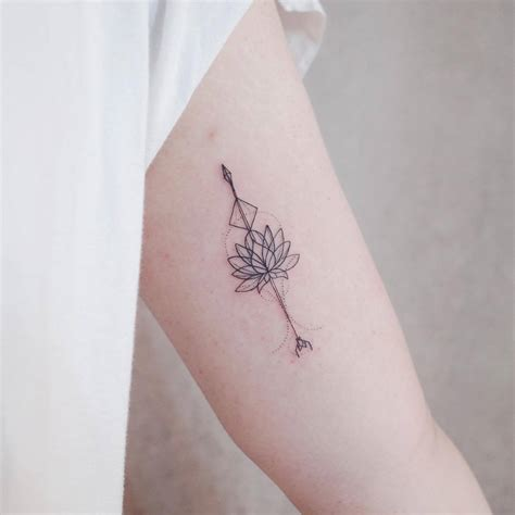Tiny Lotus Flower Tattoo  Flowers Ideas For Review