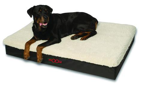 snooza big dog bed memory foam pet dog beds fully washable