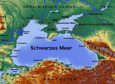 Der Garten über Dem Meer by Schwarzes Meer