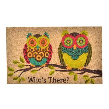 Owl Doormat by Confessions Of An Imperfect Birthday Wish List