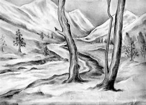 Simple Pencil Sketches Nature Pencil Sketch Of Nature ...