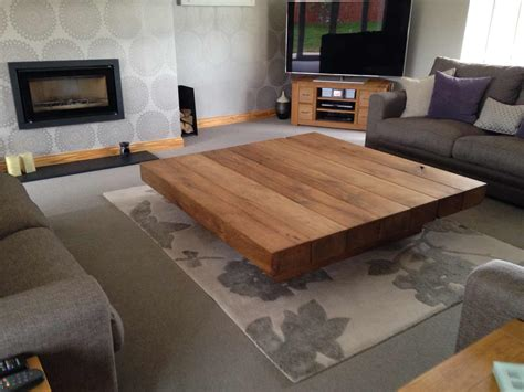 Large Table by Large Low Coffee Table Abacus Tables