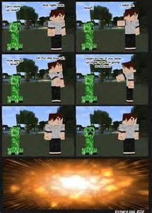 Funny Minecraft Creeper Jokes