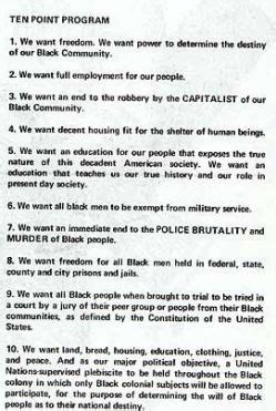 black panther party  seattle part  seattle
