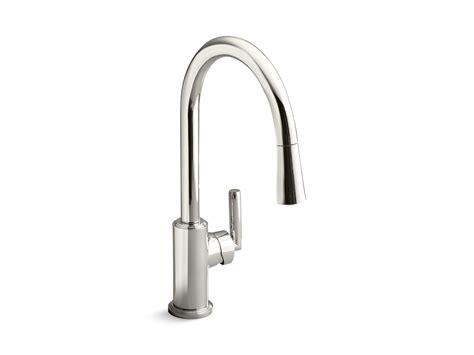 kallista sinks kitchen vir stil minimal by kirar pull kitchen faucet 2069