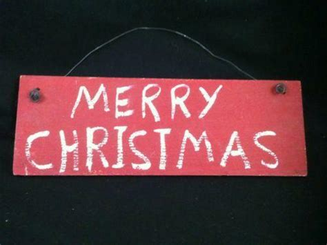 merry christmas sign ebay