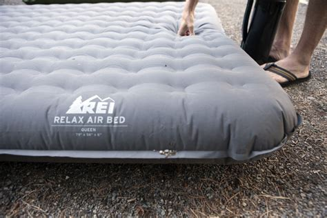 rei air mattress rei relax airbed review outdoorgearlab