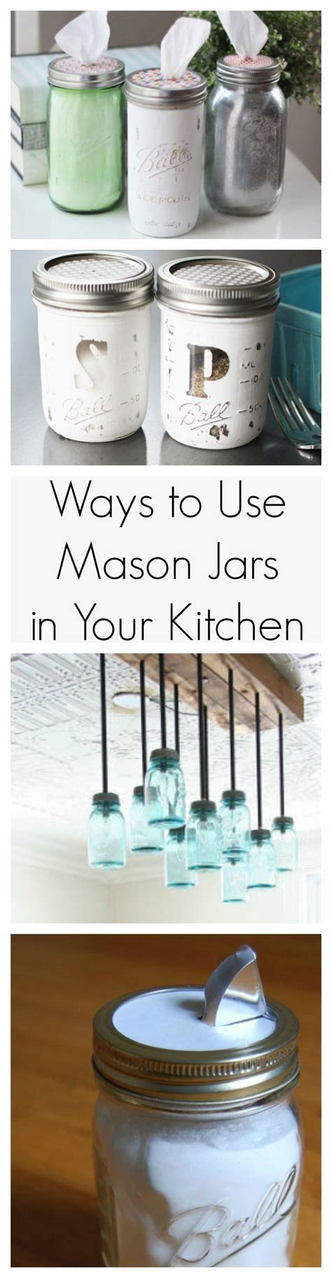 Jars Kitchen Decor by 24 Handy Ways To Use Jars In Your Kitchen Jars
