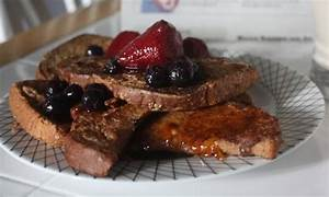 Gingerbread French Toast Recipe