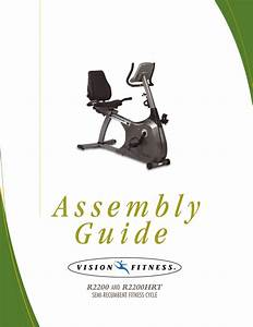 Vision Fitness R2200 Users Manual Web R22hrt Assy4