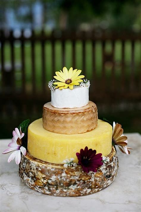Wedding Cakes Made Of Cheese. Yes, Cheese!   Weddingbells