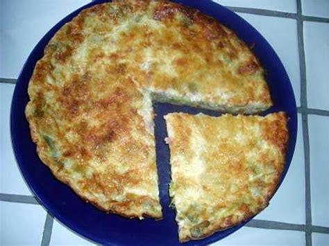 recette de quiche sans pate poireaux lardons