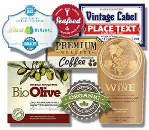 Custom labels with a variety of choices at instabox canada for Custom labels canada