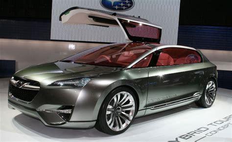 Subaru May Reveal Hybrid Model At 2013 New York Auto Show