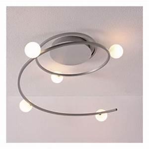 Luminaire Design Led : plafonnier design led narcisse millumine ~ Teatrodelosmanantiales.com Idées de Décoration