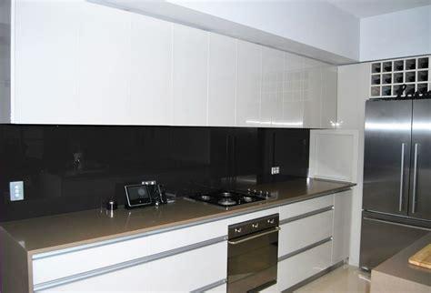 black tiled splashbacks for kitchens 29 top kitchen splashback ideas for your home 7909