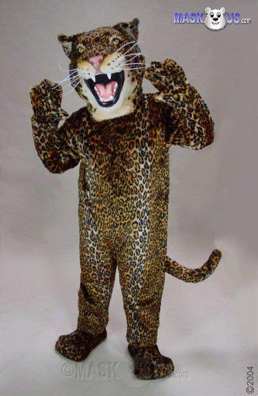 Jaguar, Deluxe Adult Size Jaguar Mascot Costume 43082