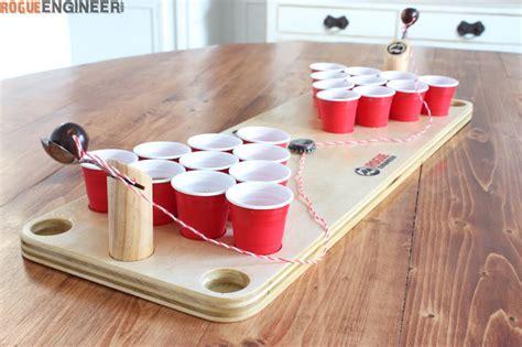 diy mini beer pong game rogue engineer