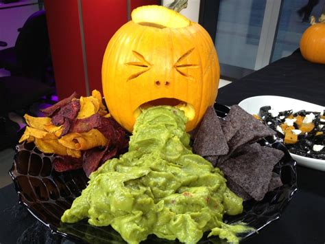 pumpkin meals tasty and grossy yet scary halloween foods
