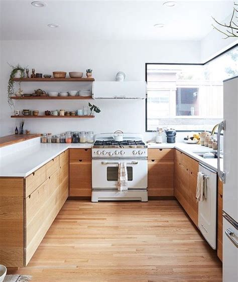 white kitchen cabinets with wood countertops 15 trendy looking modern wood kitchens shelterness 2092
