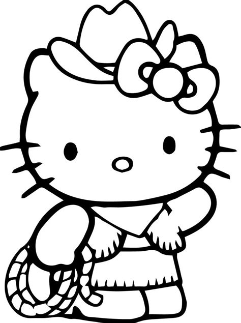 Hello Kitty Coloring Pages wecoloringpage Hello kitty