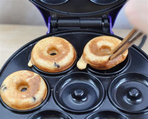 Donut Maker Recipe With Pancake Mix   Miss Mamies Cupcakes