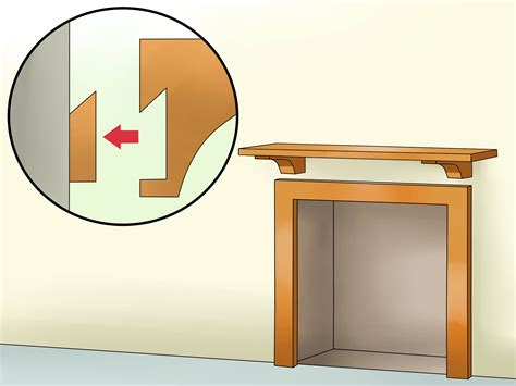 How To Install A Fireplace Mantel 14 Steps With Pictures