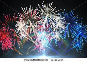 Red White Blue Fireworks Stock Images, Royalty-Free Images ...