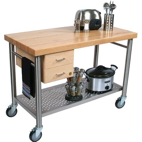 Kitchen Utility Cart With Drawers by Boos Cucina Magnifico Quot Kitchen Cart With Dovetailed