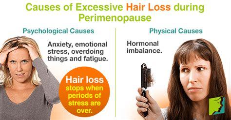 Hair Loss during Perimenopause   Perimenopause hair loss ...