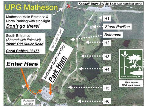 Matheson Hammock Park Map by Matheson 1st Saturdays Paradise Guild