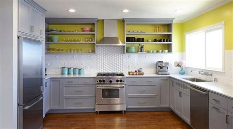 gray and yellow kitchen ideas grey yellow kitchen crowdbuild for