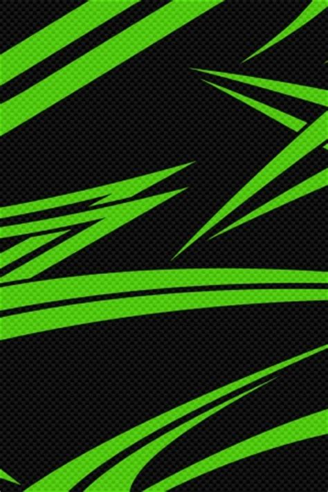green and black iphone wallpaper 320x480 black green carbon iphone 3g wallpaper