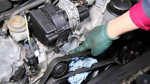 How To Replace A Thermostat In A Mercedes V6 Engine 1998