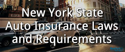Auto insurance from nationwide gives you peace of mind. New York Auto Insurance Laws and Requirements - Insurance ...