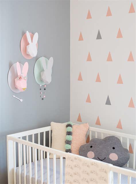 chambre lapin des lapins dans la chambre de bébé frenchy fancy