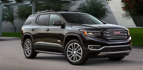 Make Your Holiday Errands Easy In A 2018 Gmc Acadia