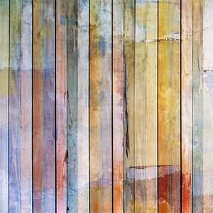 Papier Peint Effet Lambris : papier peint bois color ~ Zukunftsfamilie.com Idées de Décoration