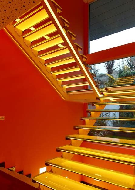 A Colorful Modern Home Designed With Usability In Mind by Modern Home Design With Colorful Led Lighting Home