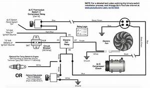 Ac Electric Fan Wiring Diagram  Ac  Wiring Examples And