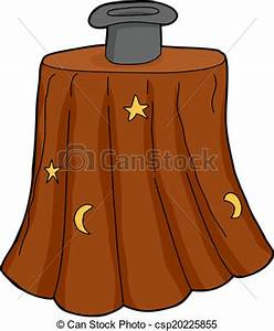 Clipart Vector of Isolated Magician Hat - Isolated ...
