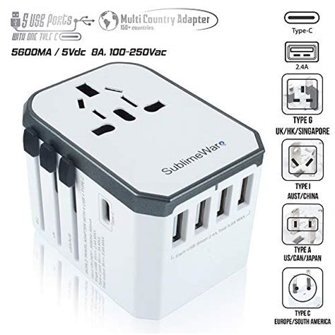 volt adapter travel adapter power plug adapter